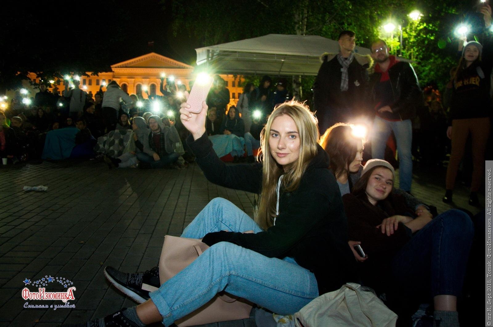 Всемирный фестиваль уличного кино собрал около тысячи томских зрителей